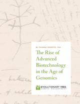 The Rise of Advanced Biotechnology in the Age of Genomics. COVER ONLY